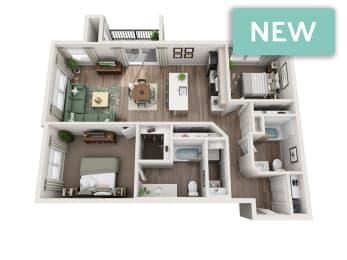Tahoma II 3D Floorplan