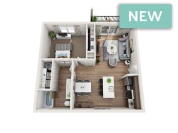 Winthrop II 3D floorplan