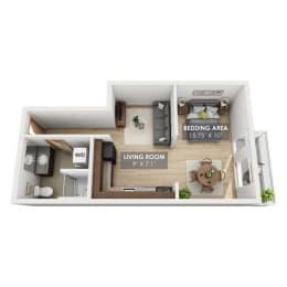 Boxcar Yardmaster Floor Plan