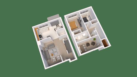 Floor Plan Three Bed Room