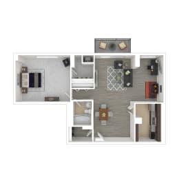 Metro 710 Apartments 1 Bedroom w/ Den