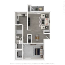 Floor Plan 1A -Renovated