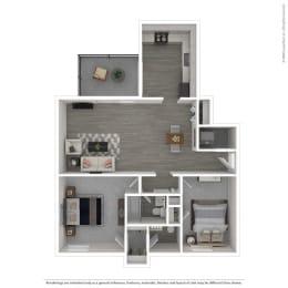 Floor Plan 2C-Renovated