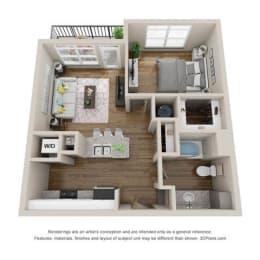 Floor Plan A1-BUXTON