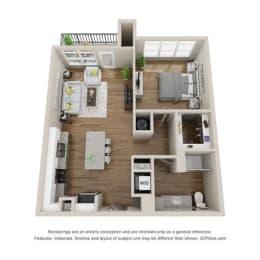 Floor Plan A2-HENLEY