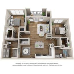 Floor Plan B1 - WELLING