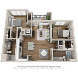 Floor Plan B2 - SHERFIELD