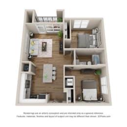 Floor Plan B3 - NEWBURY
