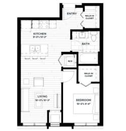 Floor Plan Olive 2 (Flats)