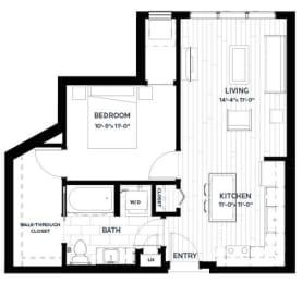 Floor Plan Flats - A5