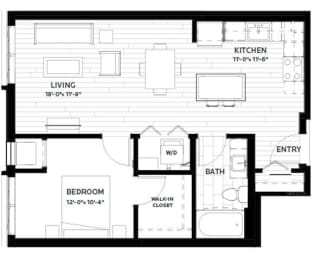 Floor Plan Olive 7 (Flats)