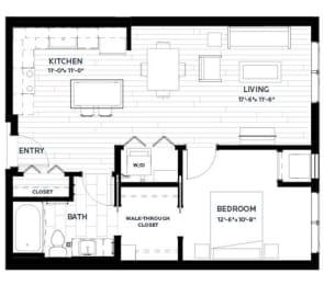 Floor Plan Olive 8 (Flats)