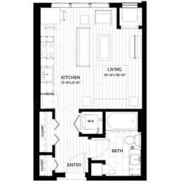 Floor Plan Flats - S1