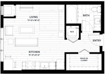 Floor Plan Sage 2 (Flats)