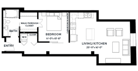 Floor Plan Track 11 (Lofts)