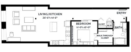 Floor Plan Track 12 (Lofts)