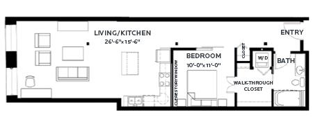 Floor Plan Lofts - A14