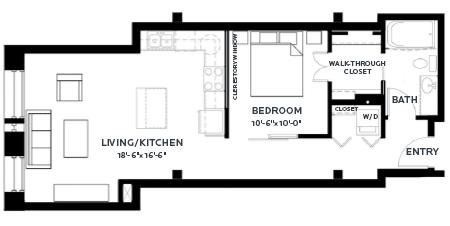 Floor Plan Lofts - A5