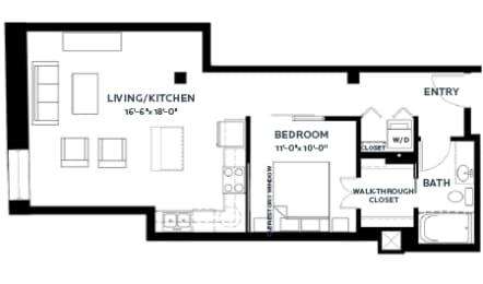 Floor Plan Track 8 (Lofts)