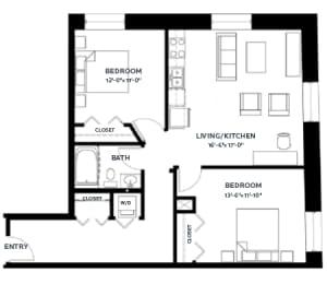 Floor Plan Timber 2 (Lofts)