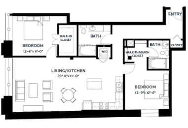 Floor Plan Lofts - B9