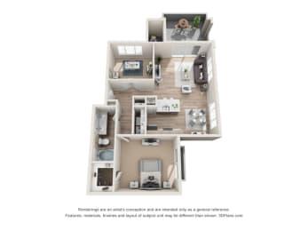 Floor Plan Opal - Renovated, opens a dialog