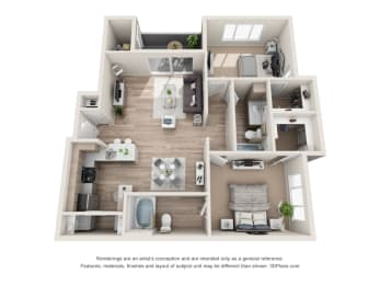 Floor Plan Onyx - Renovated, opens a dialog