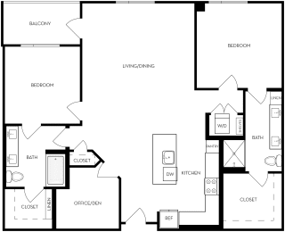 Floor Plan 2B-5