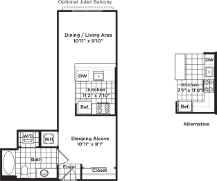 Floor Plan s02m (Income Restricted)