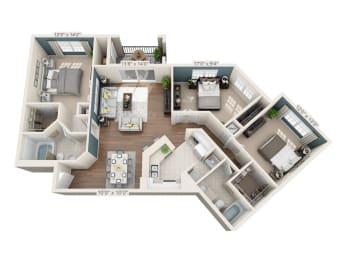 Floor Plan Buckingham