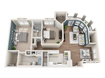 Floor Plan St. James