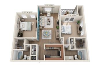 Floor Plan Suzanne