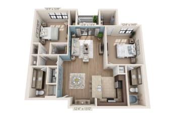 Floor Plan Bay