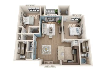 Floor Plan Beacon