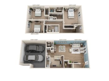 Floor Plan Captain - Townhome