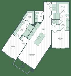 Floor Plan Yaupon