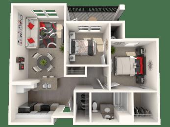 McIntosh - Two bedroom apartment at  FountainGlen Temecula
