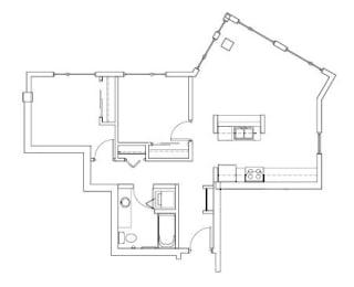 Floor Plan Recreated
