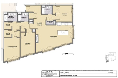 Floor Plan 2 Bedroom 3 Bathroom Plus