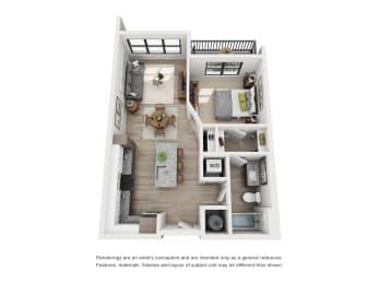 Floor Plan The Gimlet - A1