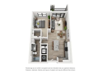 Floor Plan The Collins - A2