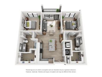 Floor Plan The Manhattan - B1