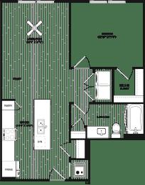 Floor Plan RA3 - Main Street Location