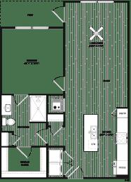 Floor Plan RA4 - Main Street Location