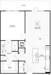 Floor Plan RA4A - Main Street Location