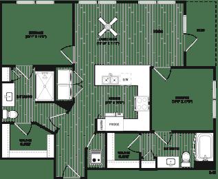 Floor Plan RB2A - Main Street Location