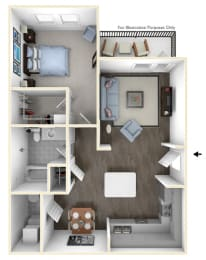 See leasing office for floor plan details.