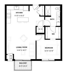 Floor Plan MAGENTA 1