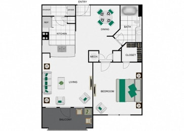 A2_2 Floorplan for arlo westchase