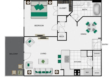 A6a_2 Floorplan for arlo westchase